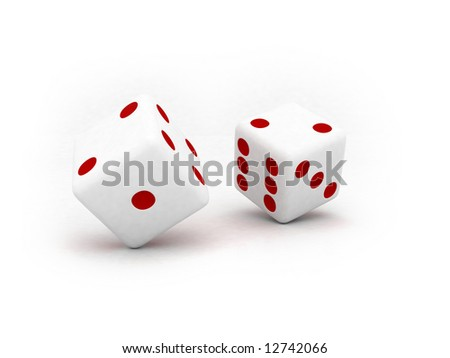two pieces of dice