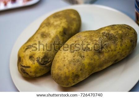 Two Potatoes  #726470740