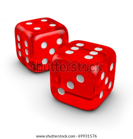 two red dice #69931576