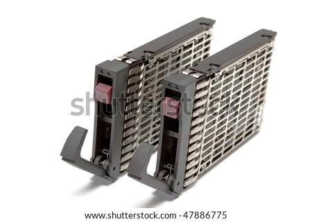 Two  server hard disk
