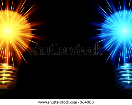 Two Shiny Bulbs_half