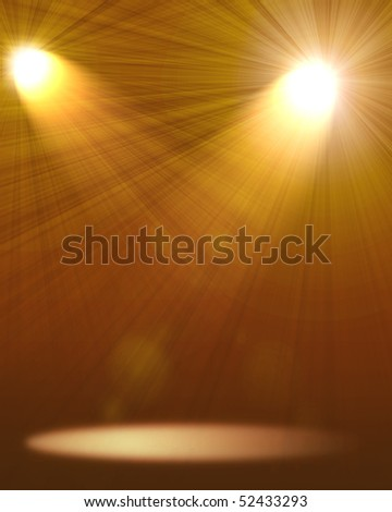 two spotlights abstract Lighting Equipment
