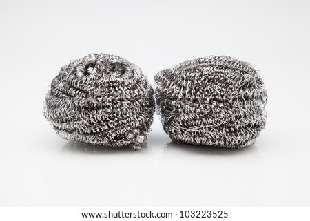 two steel wool for cleaning