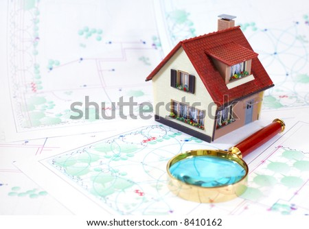 Two-storeyed small house...