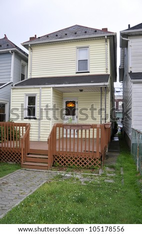 two story single family home