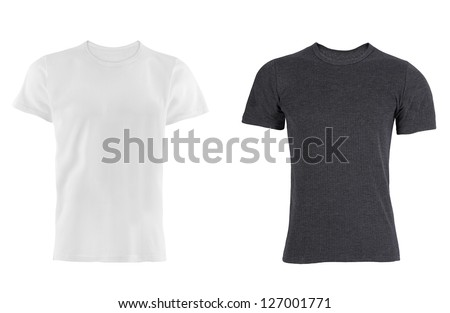 two T-shirt isolated