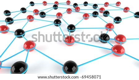 Two teams integrated into a network
