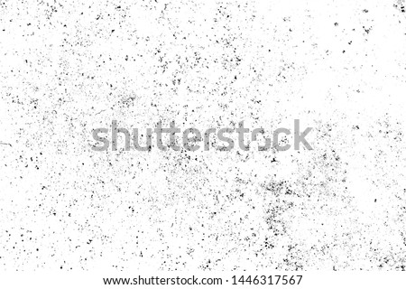 Two tone Grunge texture black and white rough vintage distress background #1446317567