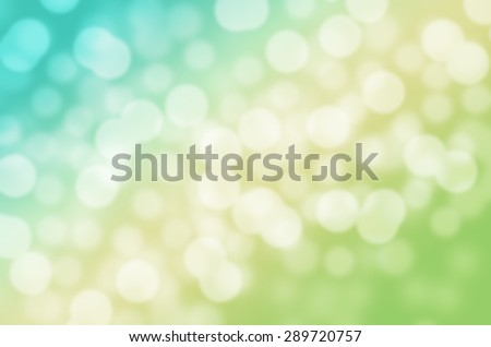 Two Tone of Dreaming Sweet Blue and Yellow Ice Cream Cool Feeling Natural Bokeh Blurred Background Texture #289720757