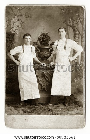 Two Waiters or Bakers