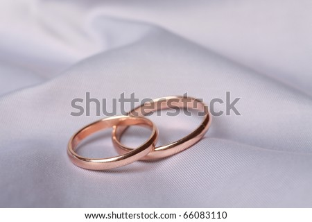 light blue wedding rings