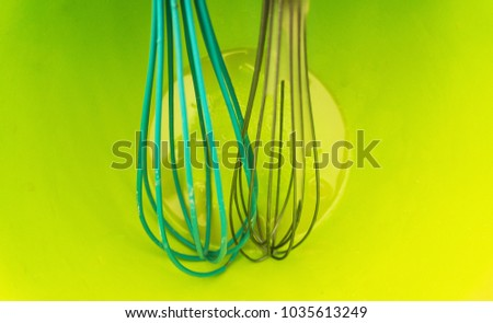 Two whisks for whipping #1035613249