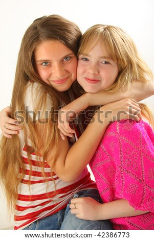 two young and wonderful models