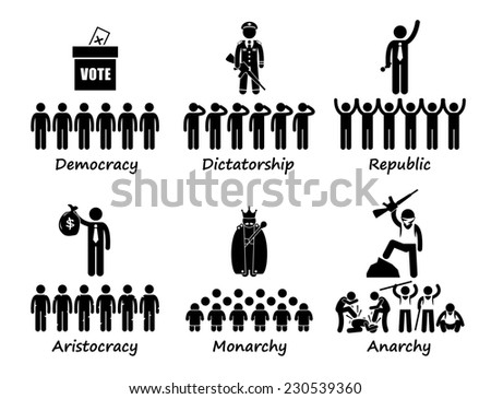 Royalty Free Type Of Government Democracy 230539363 Stock Photo