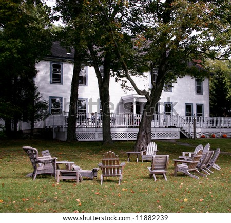 Typical Bed & Breakfast in Door County, Wisconsin