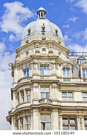 Typical building in London, UK