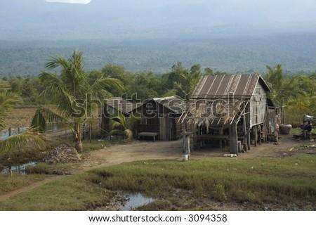 Typical Cambodia landscape