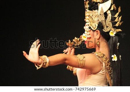 Typical Cambodian Dance in Phnom Penh, Cambodia