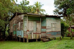 Typical caribbean shack.