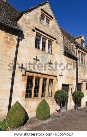 Typical Cotswolds houses in Chipping Campden, Gloucestershire, England