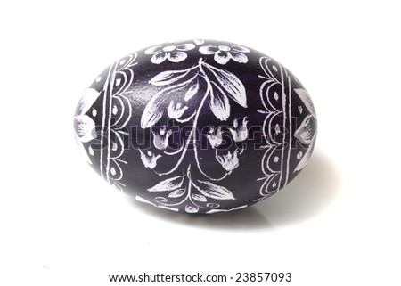 typical czech easter eggs