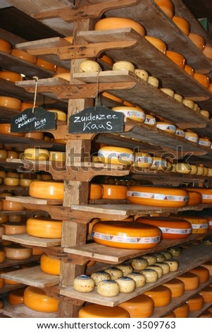 typical dutch cheese shop