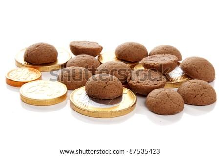 typical Dutch Sinterklaas candy