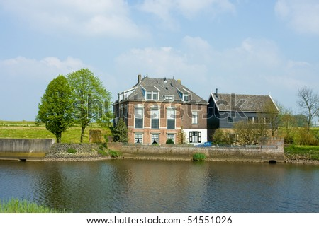 Typical family house in Netherlands