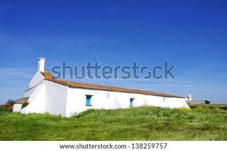 Typical house in alentejo region