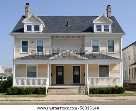 Typical Midwest Duplex House