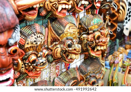Free Photos Typical Souvenirs And Handicrafts Of Bali At The Famous