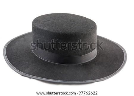 Typical Spanish hat to dance Sevillanas