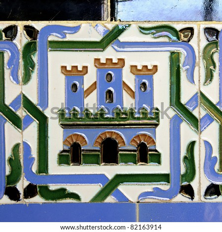 typical spansh tile
