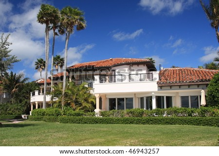 Typical upscale island living in South Florida on Fisher Island
