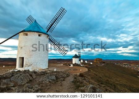 Typical windmills of  Region of Castilla la Mancha