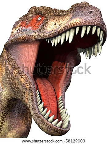 tyrannosaurus close-up 2