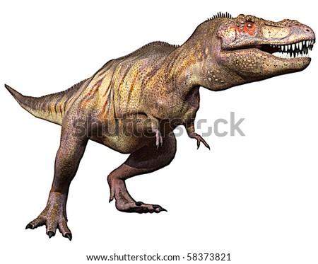 tyrannosaurus side attack