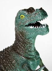Tyrannosaurus Toy Isolated
