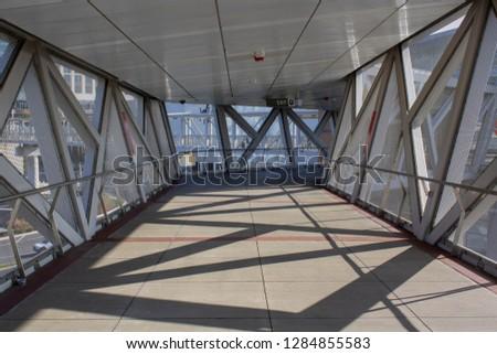 Tyson Corner/Virginia/United States - November 17th 2018: Tyson Corner Metro - Subway Station #1284855583