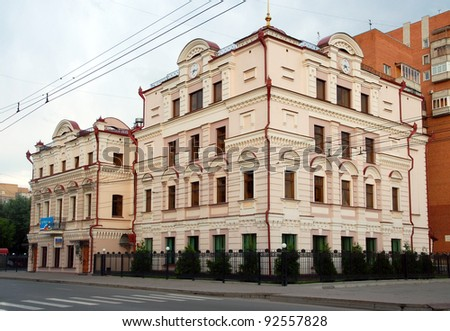 Tyumen, the house of the beginning of XX cent
