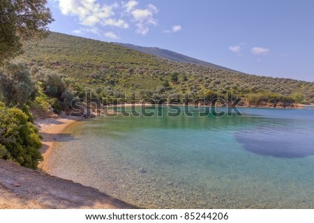 Tzasteni Beach, Pelio, Thessaly, Greece