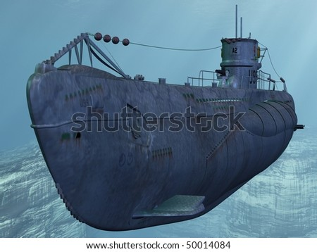 U99-German Submarine from the Worldwar II