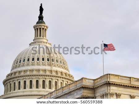 U.S. Capitol (Washington DC, USA) Foto stock ©
