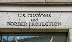 U.S. Customs and Border Protection, Department of Homeland Security. Ronald Reagan International Trade Building, Washington DC, USA.