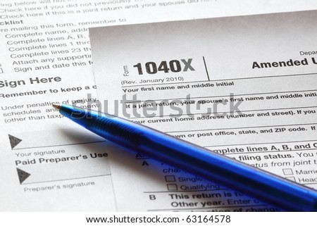 how to ammend tax return irs