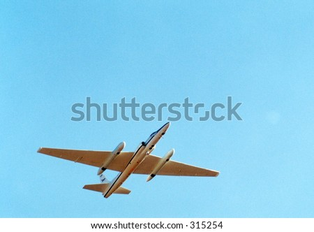 stock photo : U2 Spy Plane