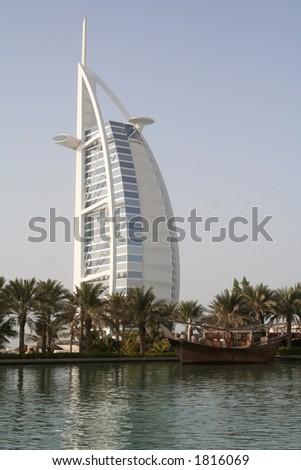UAE. Dubai. Jumeira. Hotel Burj Al Arab
