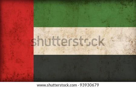 UAE flag background