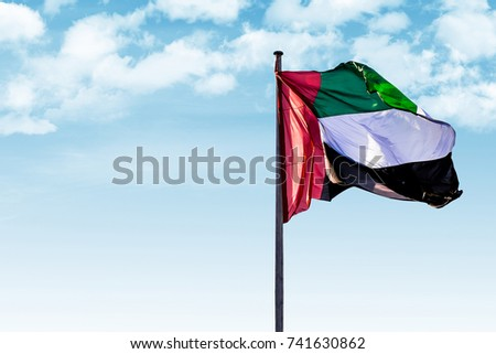 UAE Flag for Flag day
