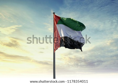 UAE Flag United arab emirates